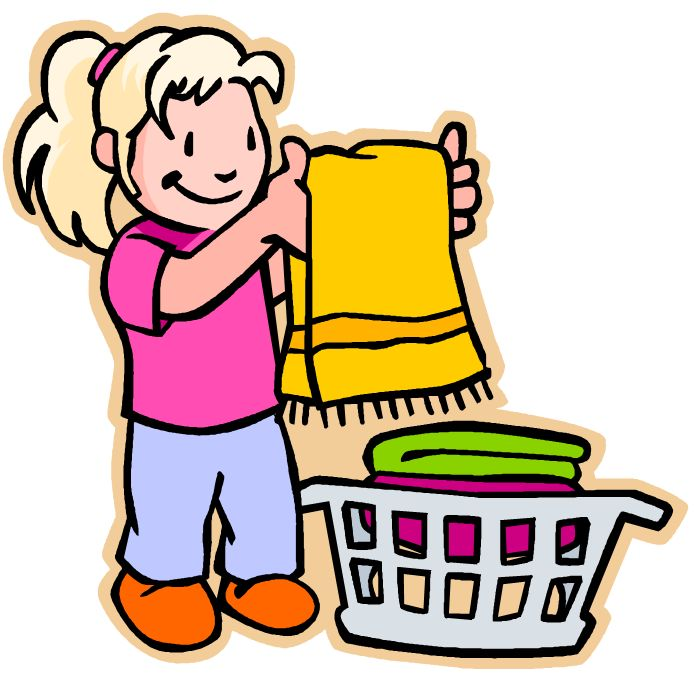 694x675 Blanket Clipart Folded Clothes