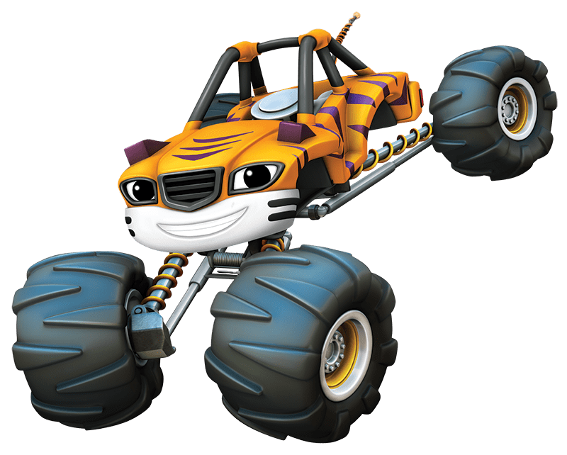 800x642 Blaze And The Monster Machines Stripes Transparent Png