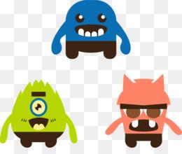 260x220 Paper Sticker Monster