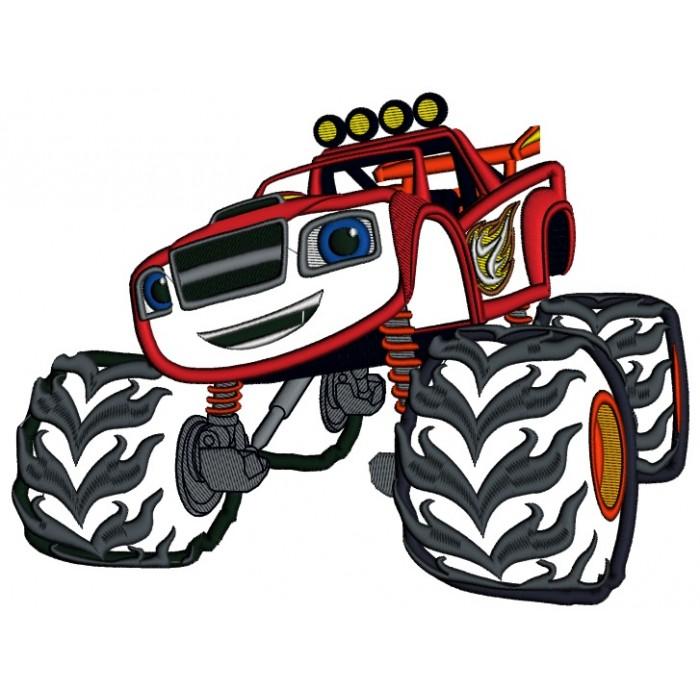 700x700 Monster Truck Clip Art Free