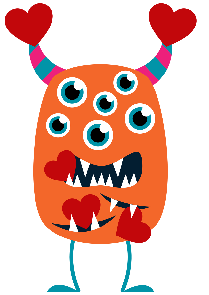 848x1200 Monster Clipart Pictures Free Download