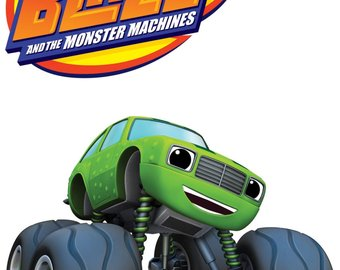 340x270 Blaze And The Monster Machines Cake Topper Birthday Party Favors