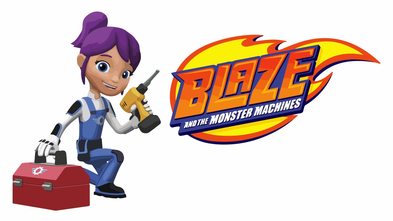1280x720 Blaze And The Monster Machines Gabby Funny Drawing Amp Art