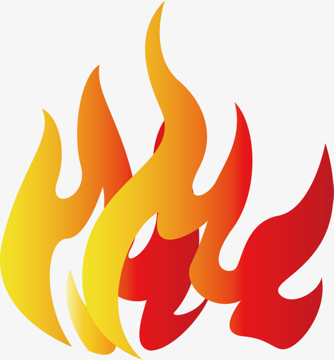 650x700 A Blaze Of Fire, A Slice, Burning, Cool Flame Png And Vector