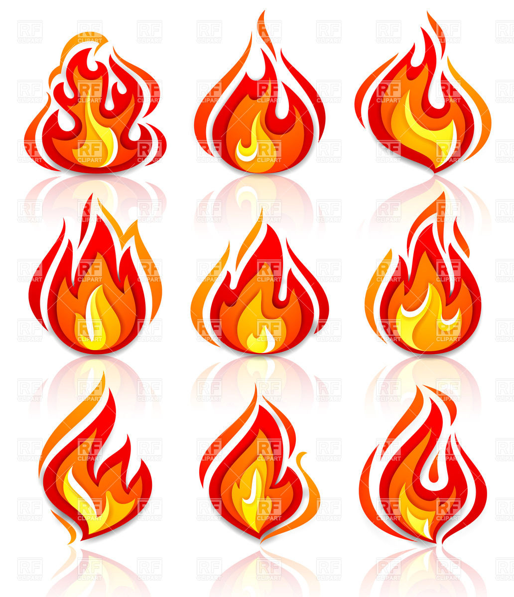 1032x1200 Fire And Flames Icons
