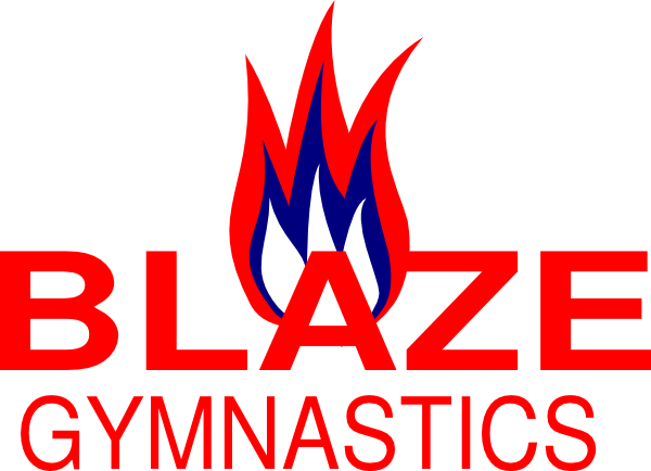 600x434 Blaze Gymnastics Clip Art