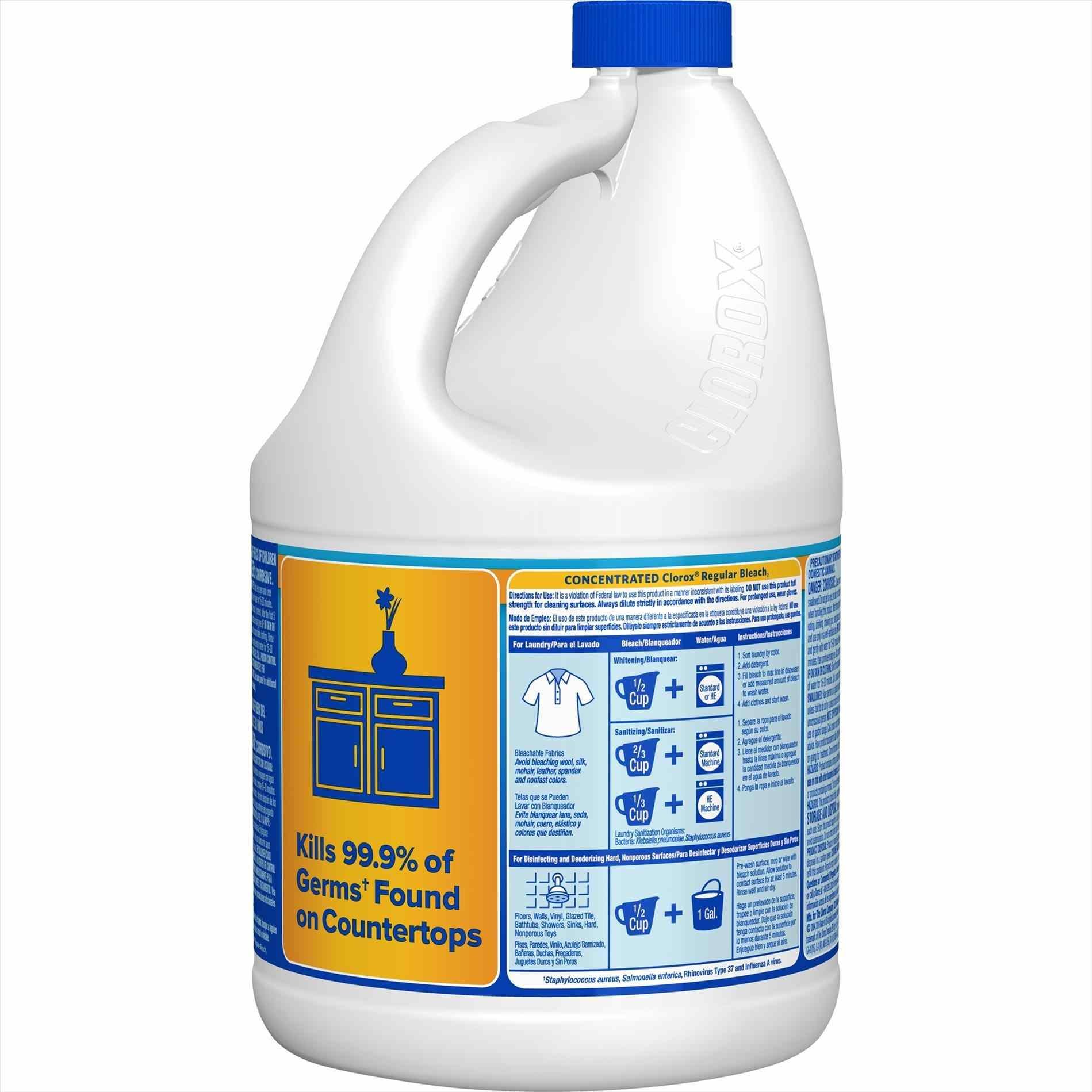 1899x1899 Amazoncom Bleach Bottle Label Ultra Cloroxr Germicidal Regular