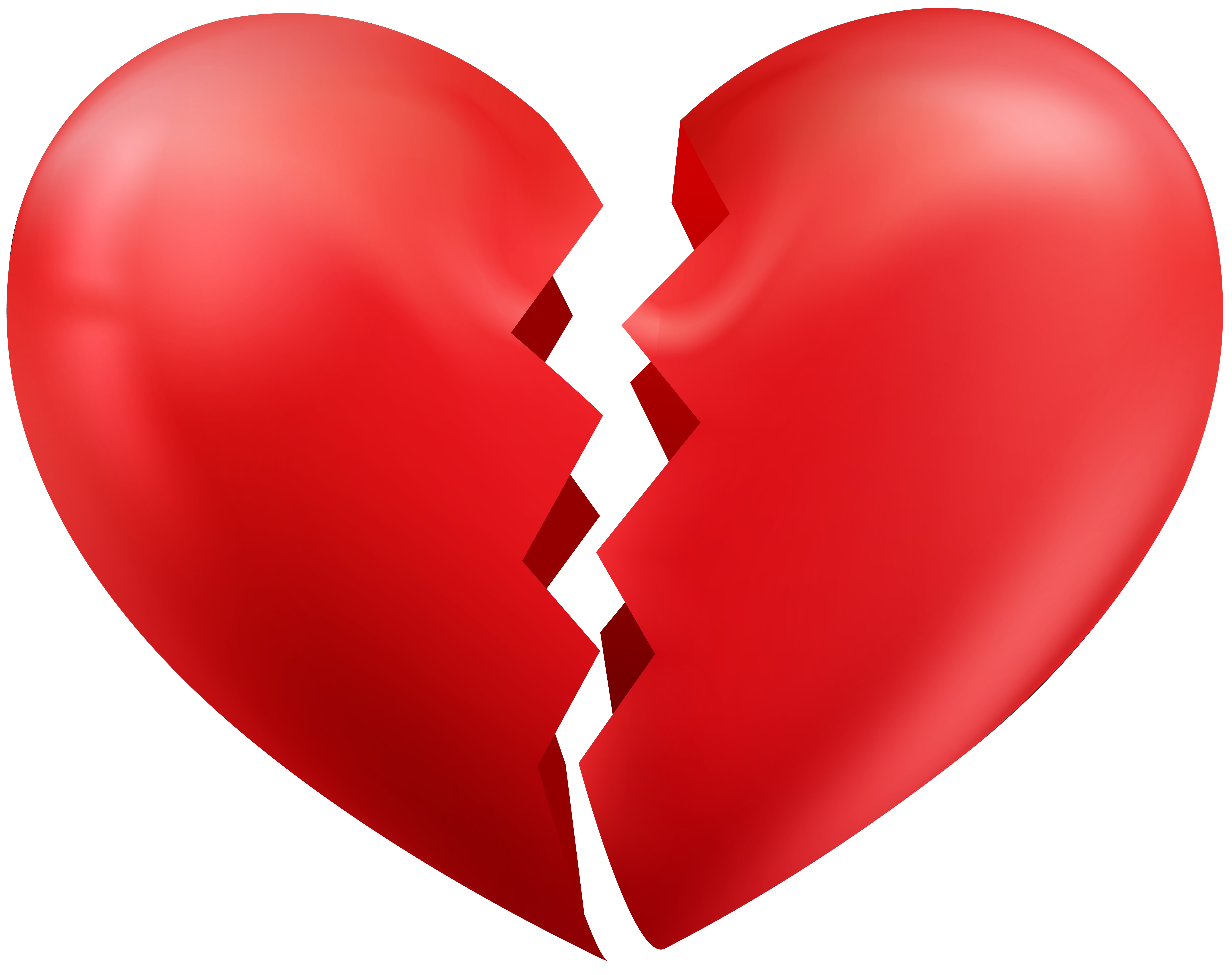 8000x6328 Collection Of Broken Heart Clipart Transparent High Quality