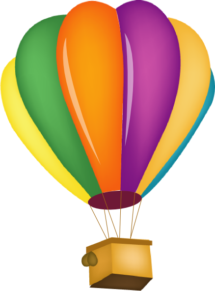 438x592 Hot Air Balloon Clip Art Hot Air Balloon Clip Art