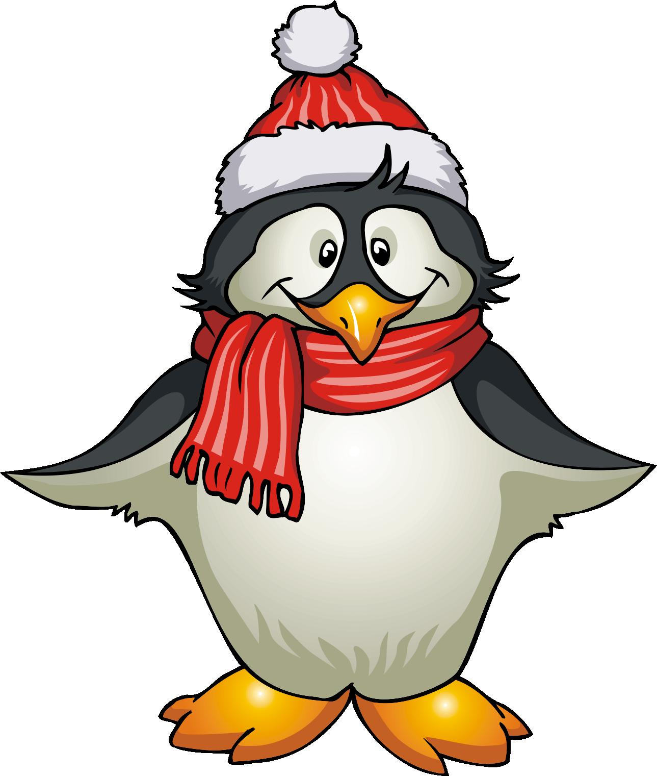 1289x1521 Winter Penguin Clipart Clipart Panda