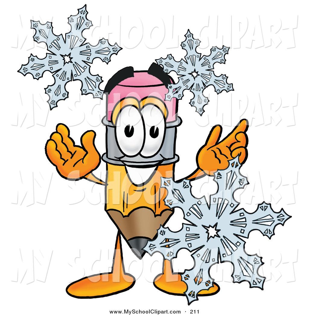 1024x1044 Winter School Clipart