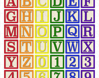 Block Letter Clipart At Getdrawingscom Free For Personal Use