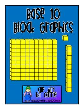 270x350 Here's A Set Of Base 10 Block Graphics For You To Create Your Own