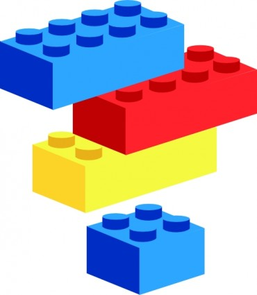 370x425 Image Of Blocks Clipart