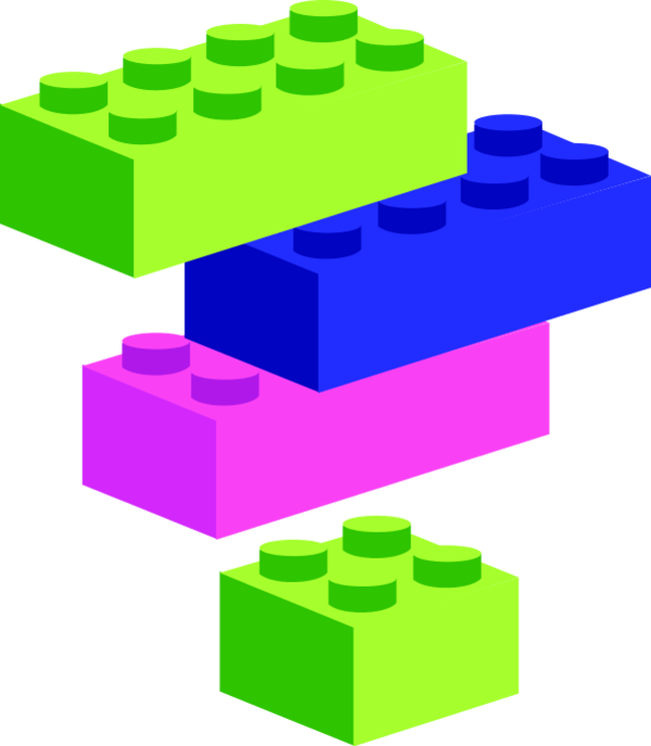 600x688 Image Of Blocks Clipart