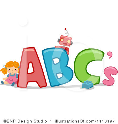 400x420 Abc Clip Art Abc Blocks Clipart Black And White Clipart Panda Free