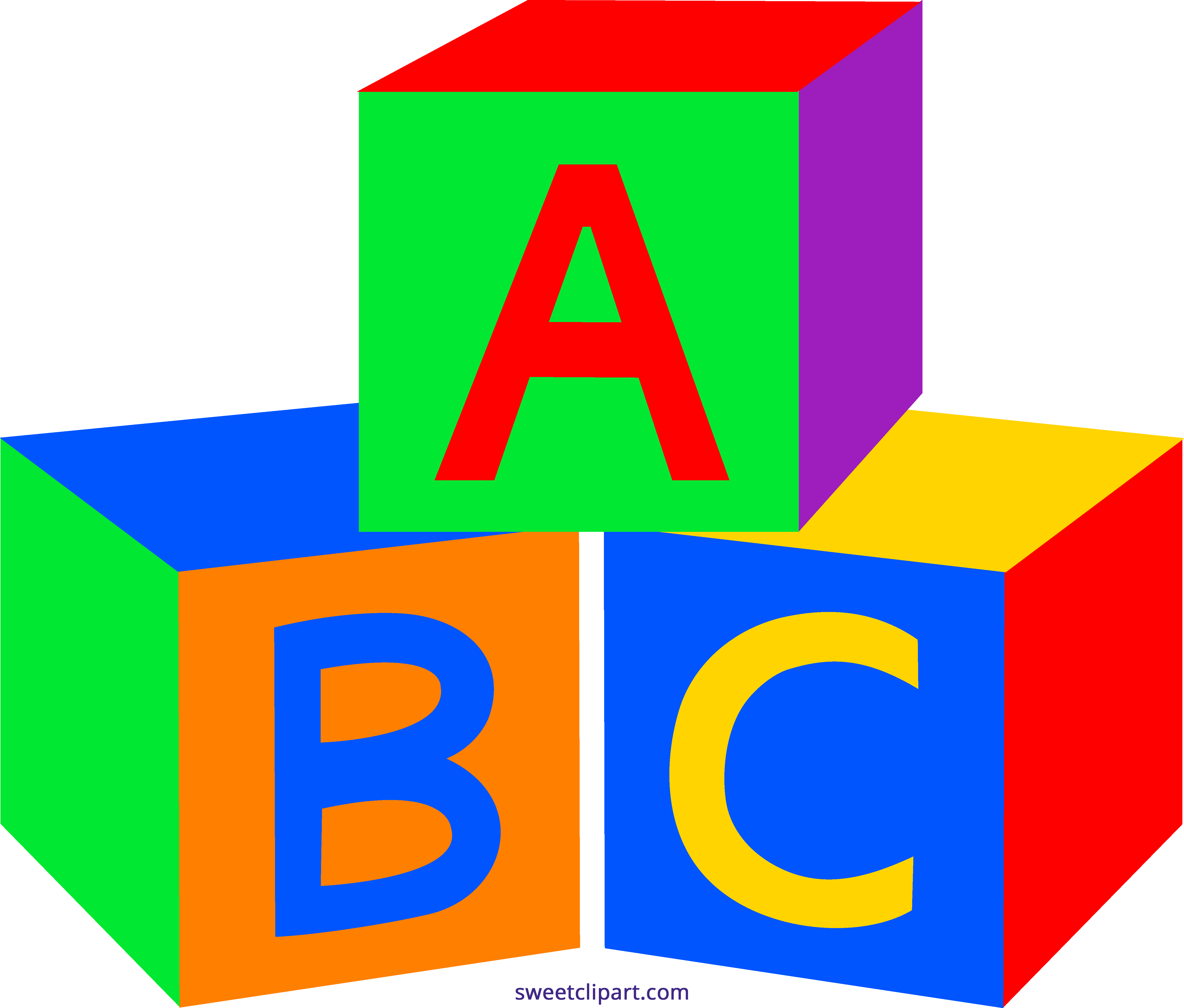 5170x4401 Baby Building Blocks Clipart