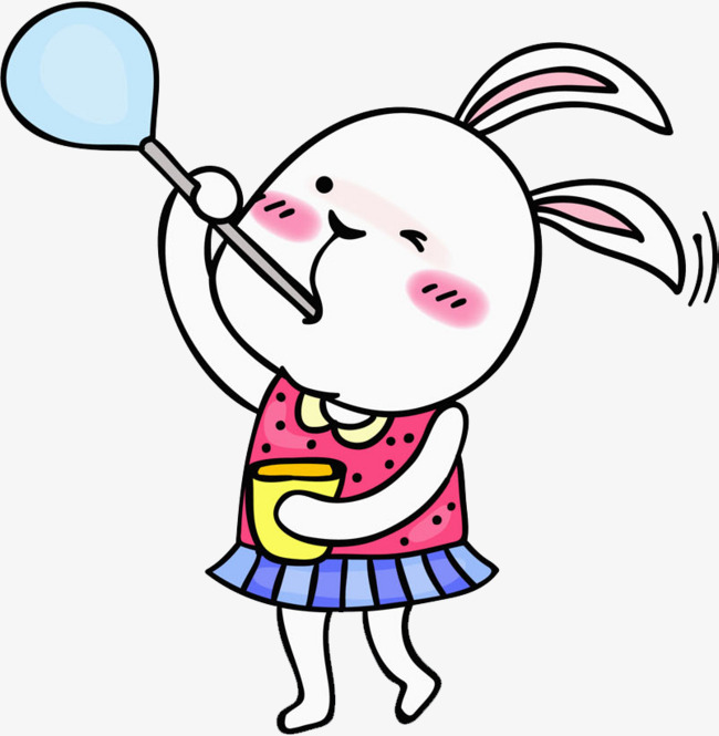 650x665 Bubble Bunny, Hand, Blow Bubbles, Lovely Png Image And Clipart