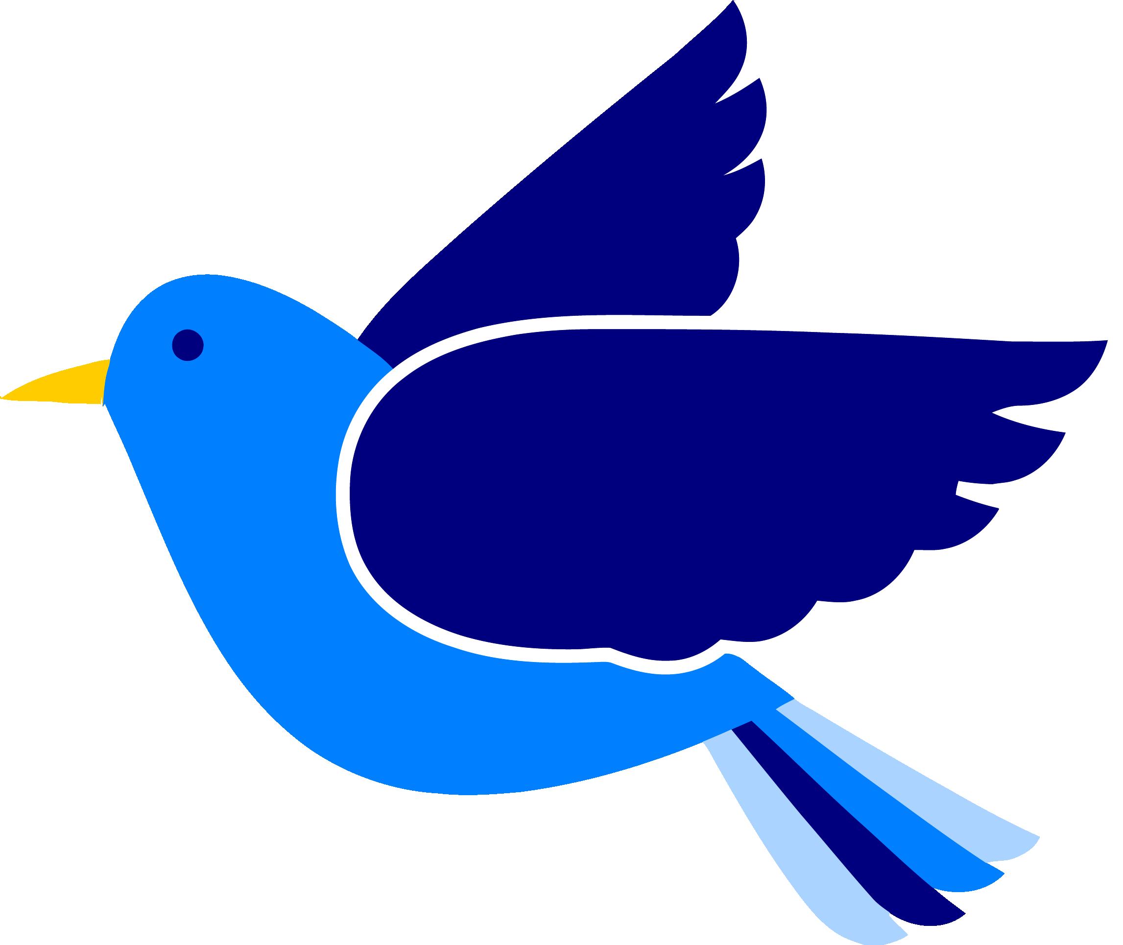 2293x1930 Blue Bird Clipart Png