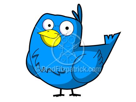 432x324 A Cute Cartoon Bird!