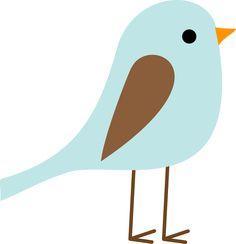 236x244 Cute Blue Bird Clip Art