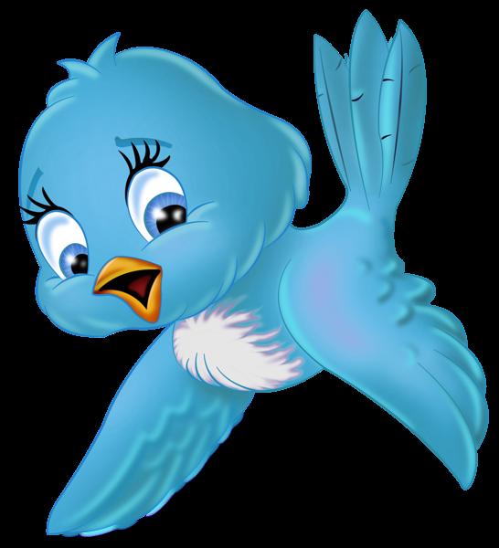 546x600 Large Blue Bird Png Cartoon Clipart 122 Lady A Amp Little Winter