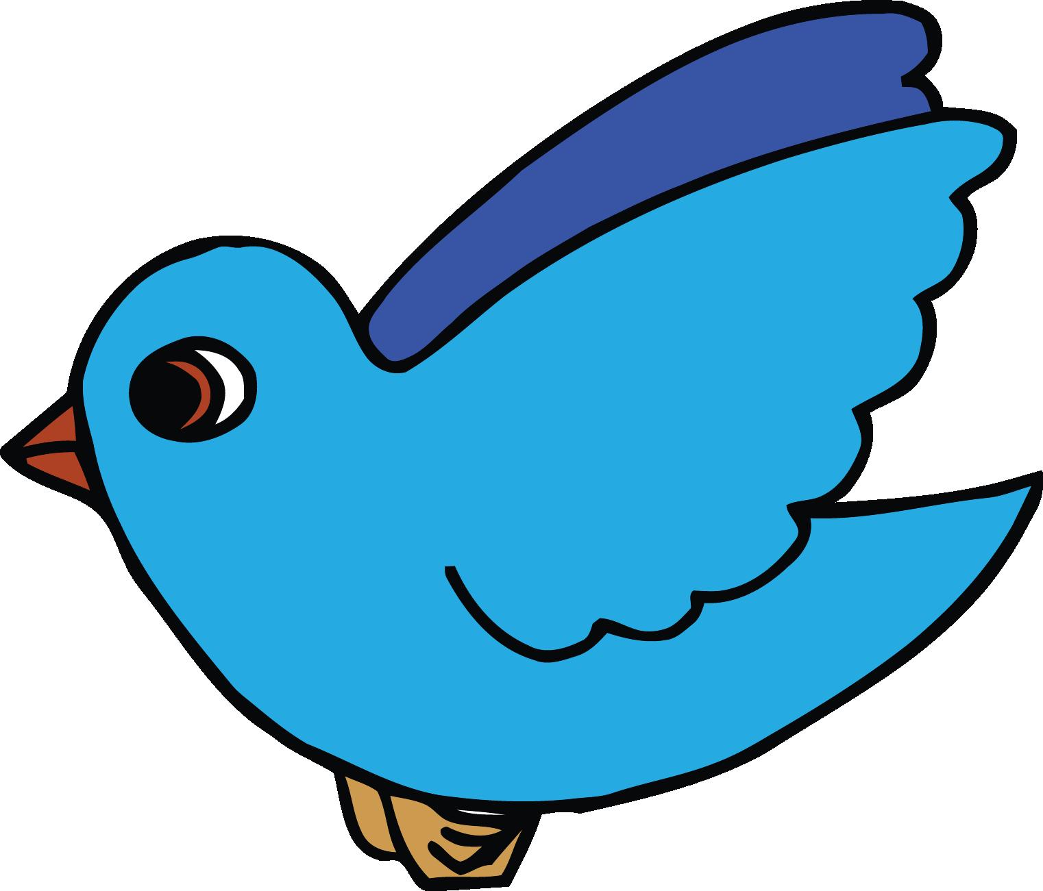 1522x1301 Sky Blue Bird Clipart Png