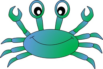 350x235 Crab Clipart By Cliptastic Teachers Pay Teachers
