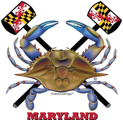 404x393 Crabs Outa Coasters