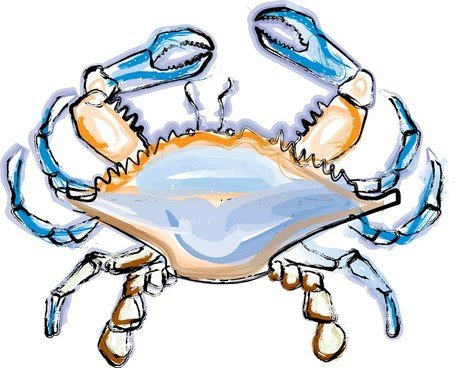 455x368 Free Blue Crab Clipart And Vector Graphics