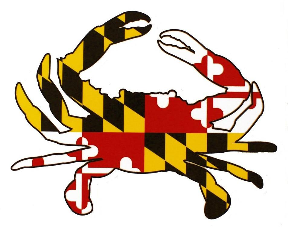 953x751 Maryland Blue Crab Bow Tie