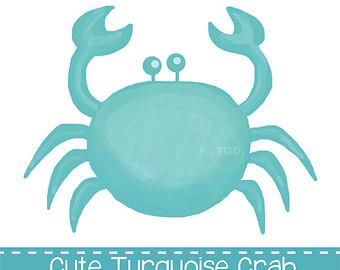 340x270 Preppy Crab Clip Art Etsy