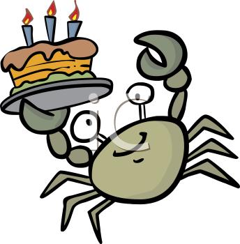 344x350 Royalty Free Crab Clip Art, Food Clipart