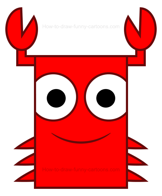 520x630 Blue Crab Clipart Black And White Free