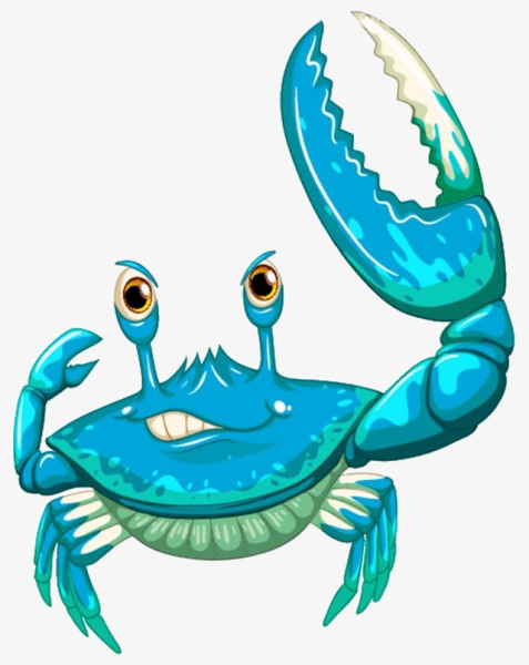 477x600 Cartoon Blue Crab, Cartoon, Blue, Crab Png Image And Clipart