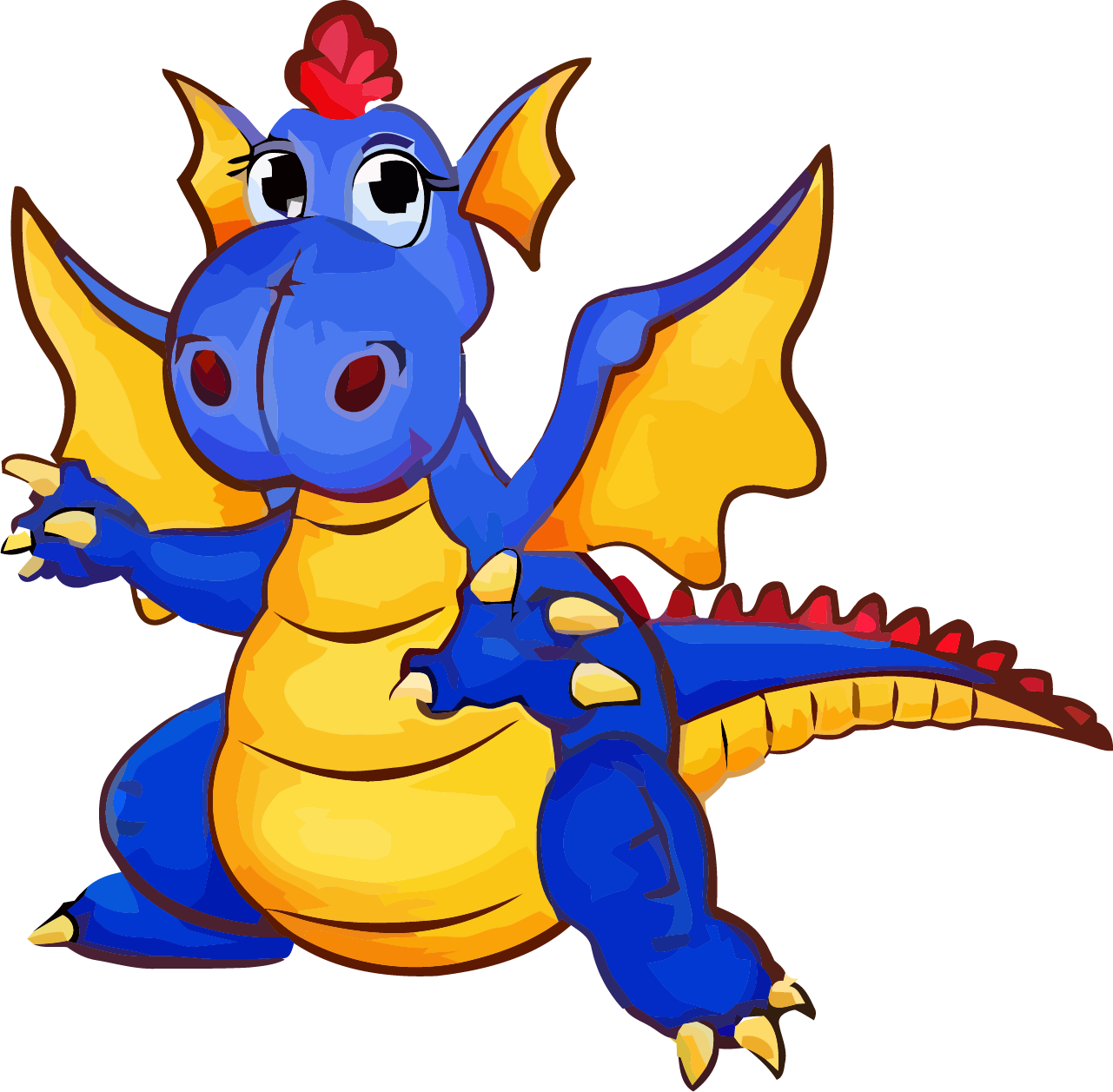 1281x1257 Blue Dragon Onesie Clipart Png