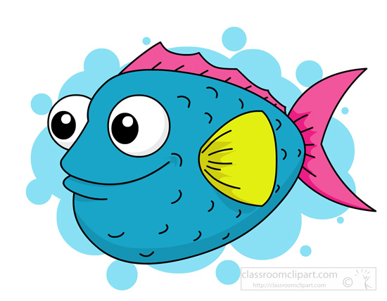 550x428 Fish Clipart Clipart Blue Puffer Fish Clipart 115