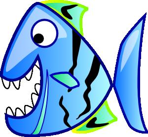 300x278 Blue Fish Clip Art Clipart Panda