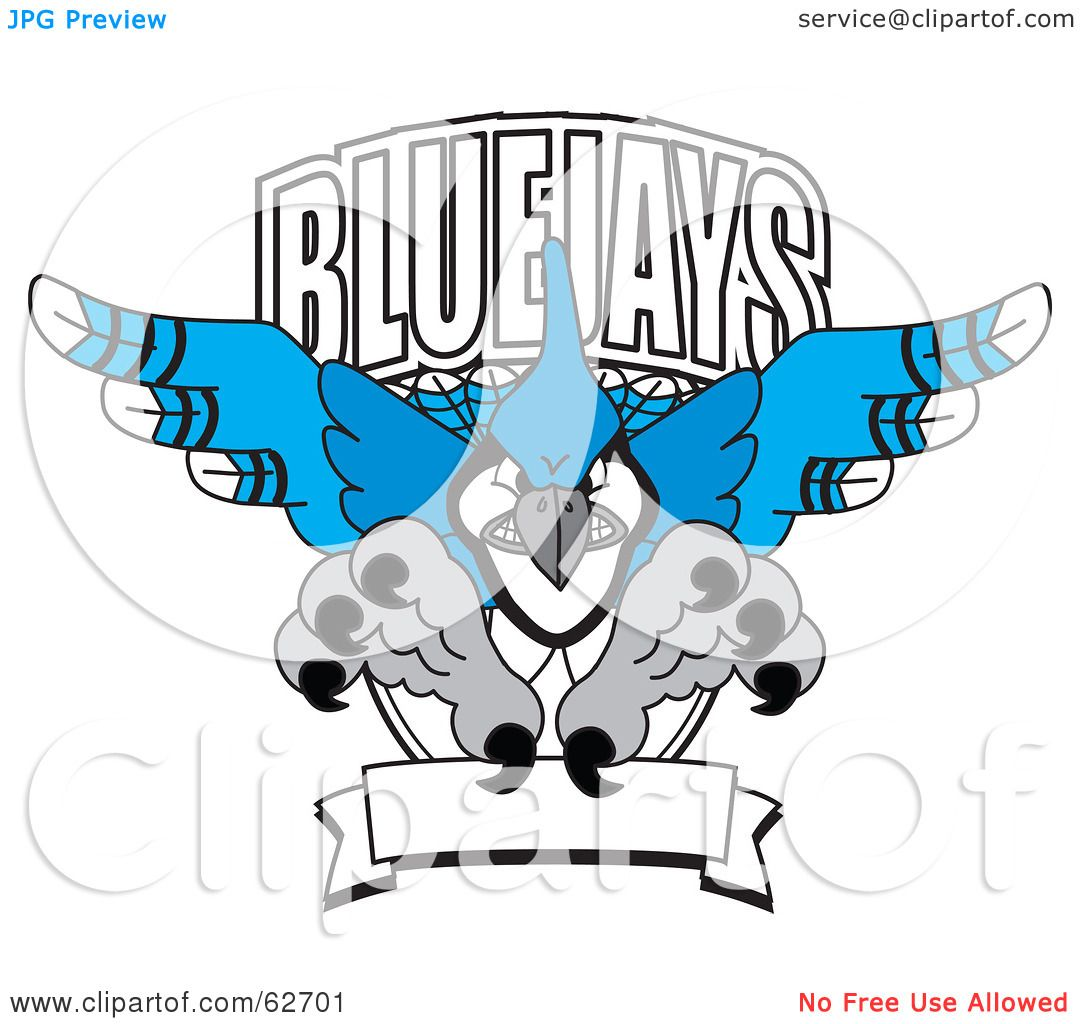 1080x1024 Royalty Free (Rf) Clipart Illustration Of A Blue Jays Character
