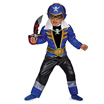 355x355 Disguise Saban Super Megaforce Power Rangers Blue Ranger Toddler