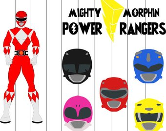340x270 Power Rangers Svg Etsy