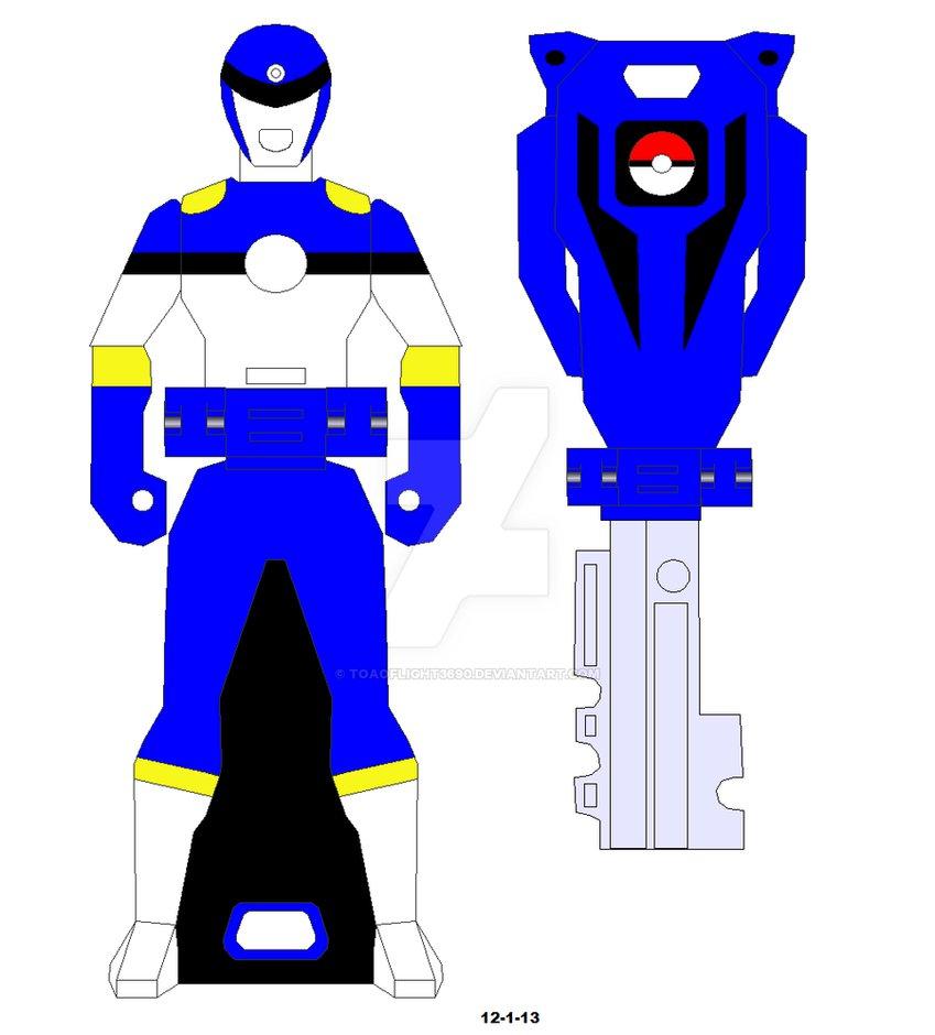 849x940 Ranger Key Pokeball Blue Rangertama Blue By Toaoflight3690
