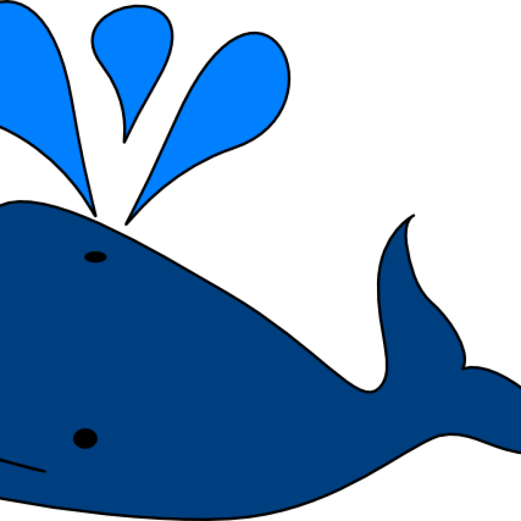 1024x1024 Blue Whale Clipart Beach Clipart
