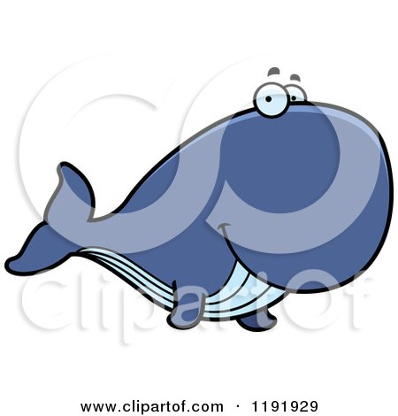 450x470 Royalty Free (Rf) Clipart Illustration Of An Endangered Blue Whale