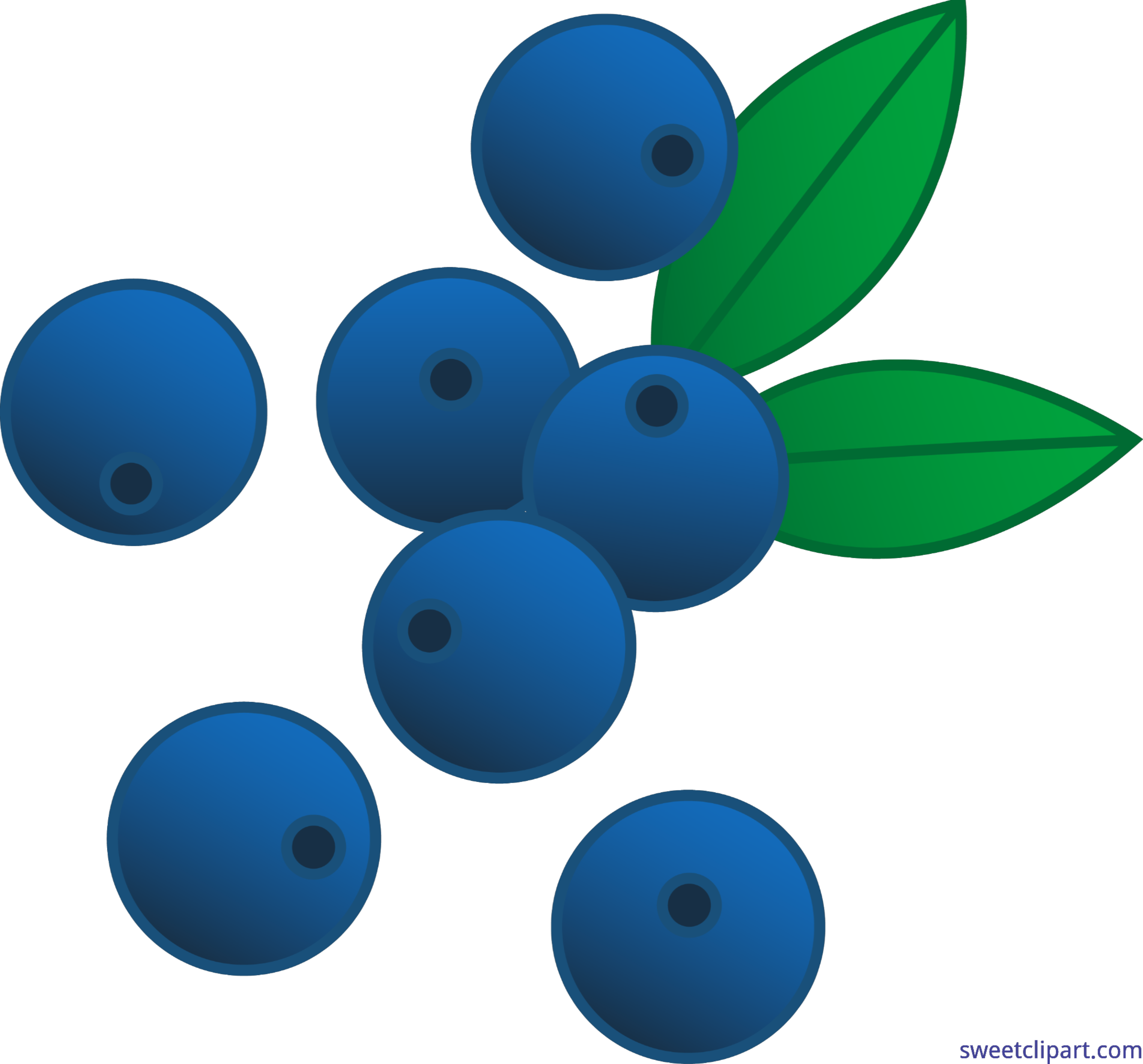 3046x2836 Berries Blueberries Clip Art