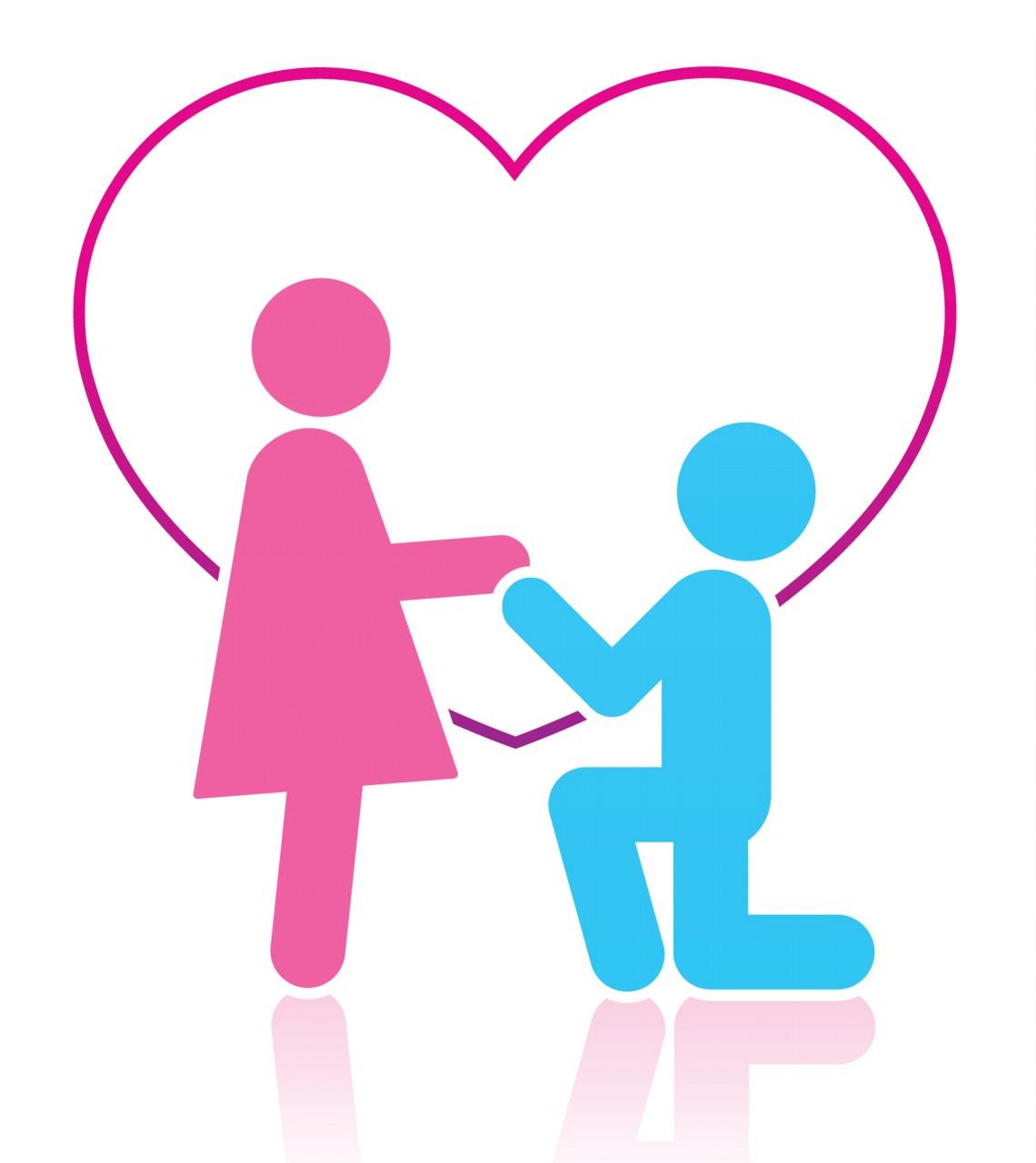 1140x1280 Clip Art Couple In Love Clipart