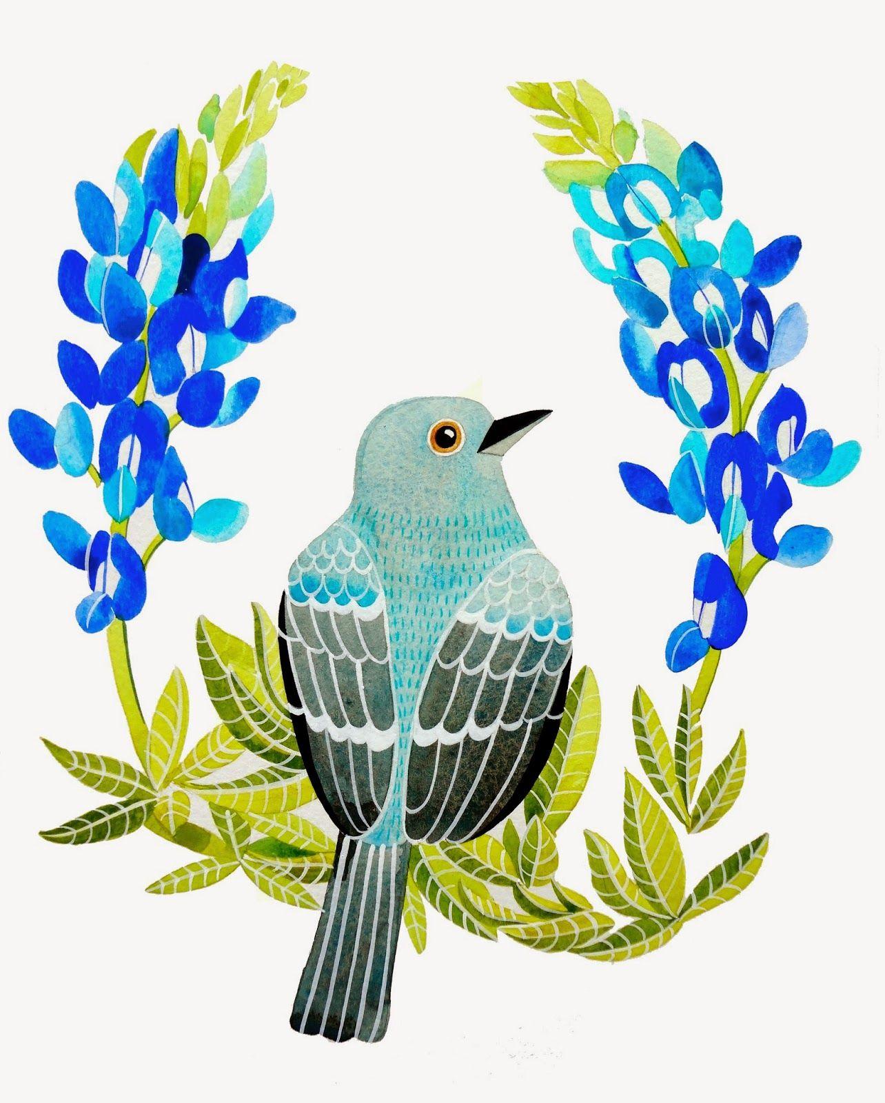 1284x1600 Bluebonnet Flower Clip Art