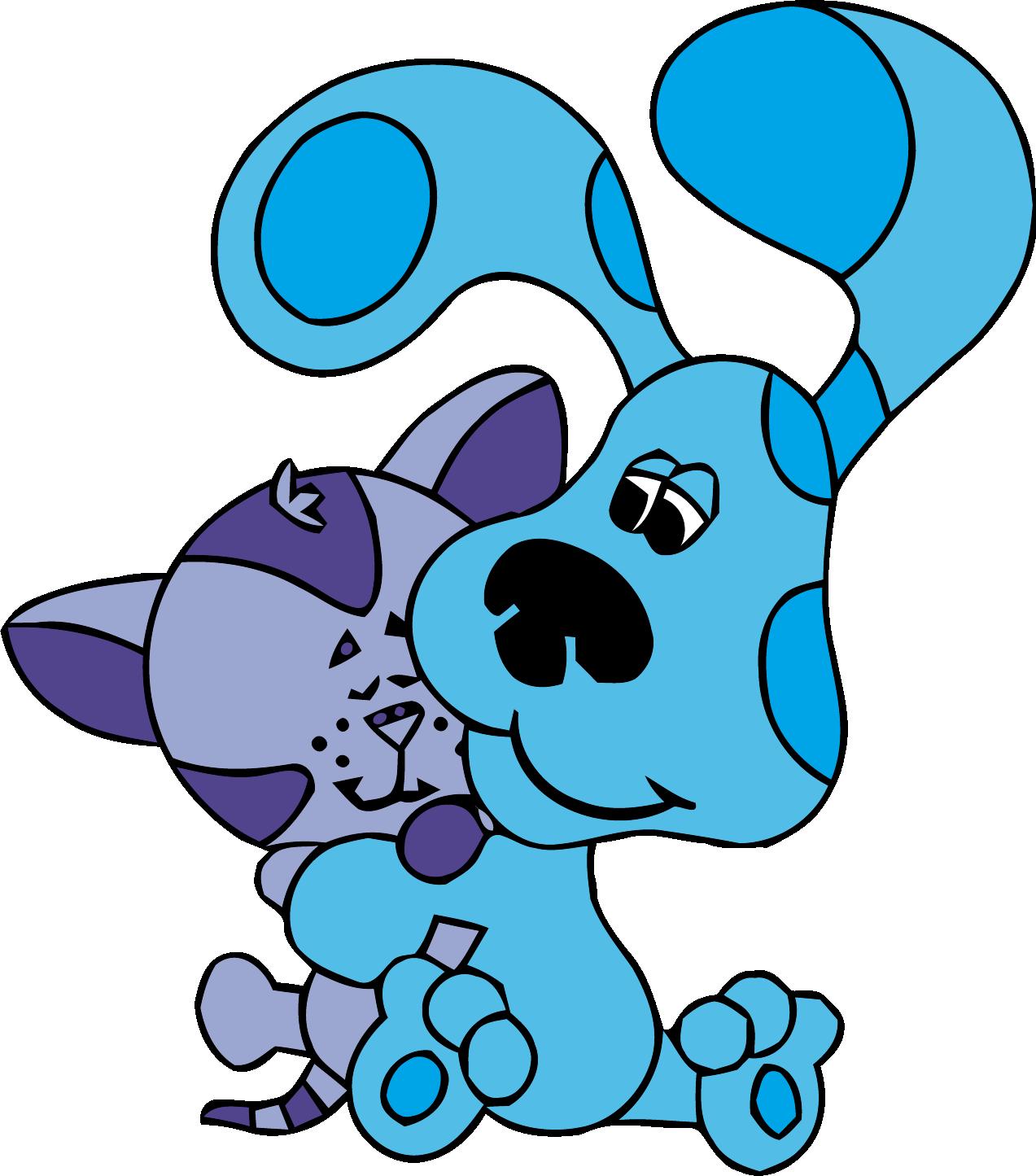 1273x1445 Blue's Clues Clip Art Love Cat Clipart Png