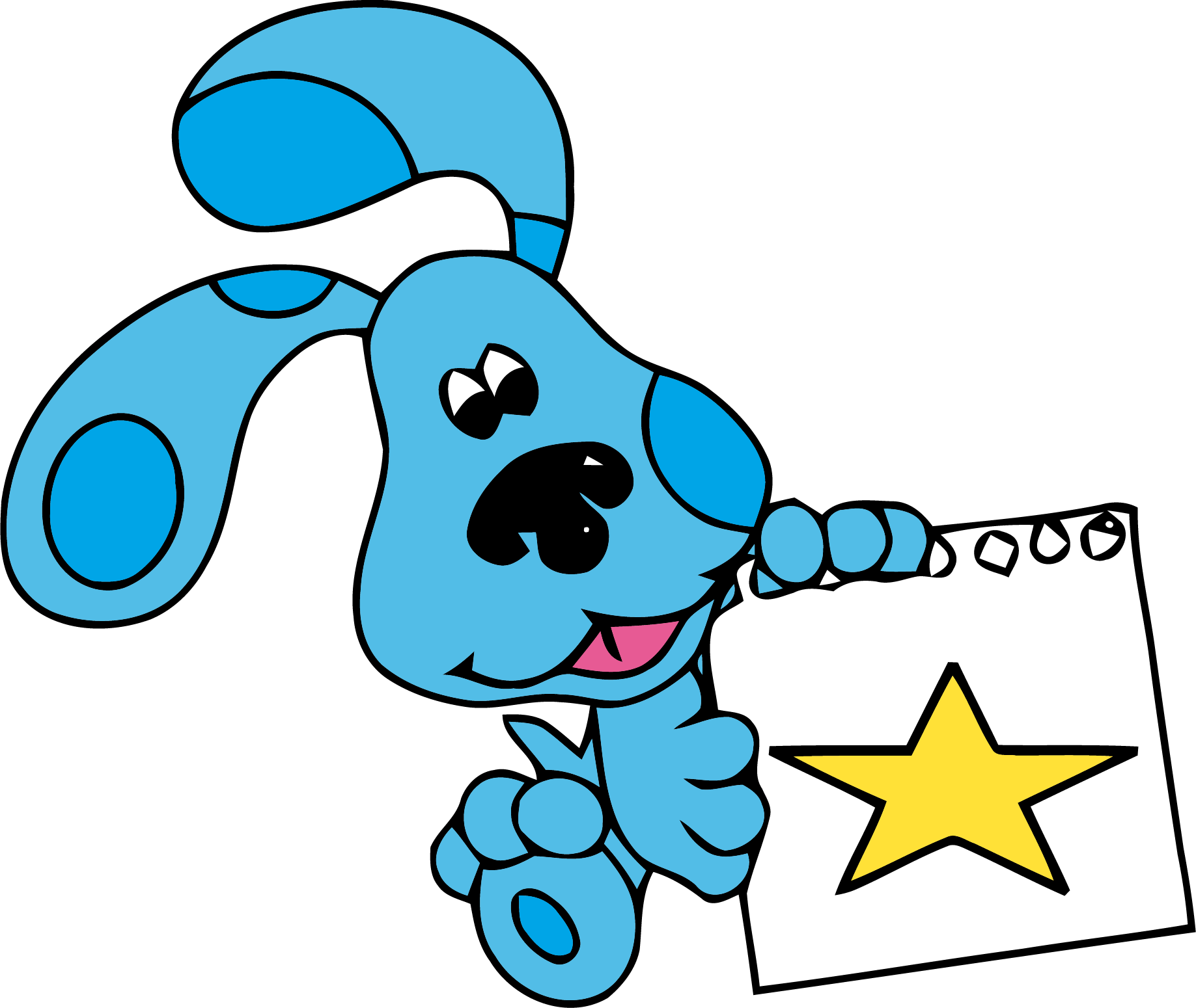 1837x1550 Blue's Clues Clip Art Star Clipart Png