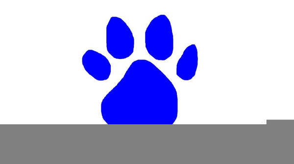 600x334 Blues Clues Clipart Paw Print Free Images